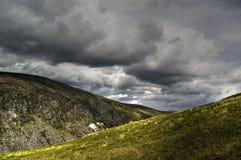 爱尔兰湖较大视图 免版税库存照片
