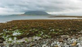 爱尔兰的一个沿海看法 免版税库存图片