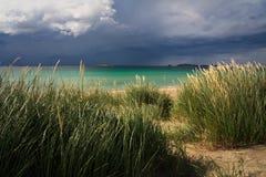 爱尔兰的大西洋海岸。 库存照片