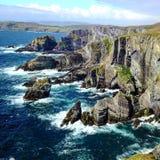 爱尔兰的大西洋海岸 库存图片