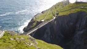 爱尔兰的大西洋海岸 库存照片