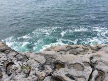 爱尔兰的海岸 库存照片