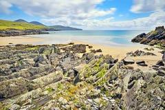 从爱尔兰的美好的风景农村横向 免版税图库摄影
