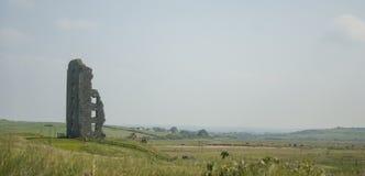 爱尔兰石塔废墟 库存图片