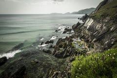 爱尔兰礁石 免版税库存照片