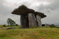 爱尔兰竖石纪念碑 免版税库存照片