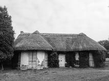 爱尔兰老村庄房子 免版税库存照片