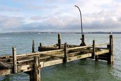 爱尔兰老码头 库存图片