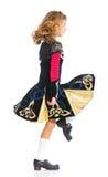 爱尔兰舞蹈演员 免版税库存照片