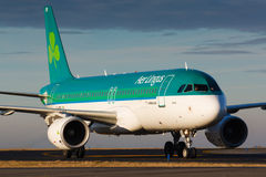 A20爱尔兰航空 免版税库存照片