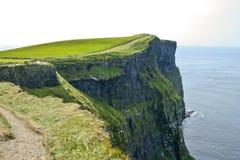 爱尔兰风景。 免版税库存图片