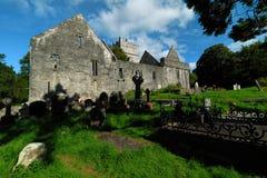 爱尔兰, Co凯利, Muckross修道院,基拉尼 免版税图库摄影