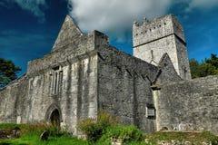 爱尔兰, Co凯利, Muckross修道院,基拉尼 图库摄影