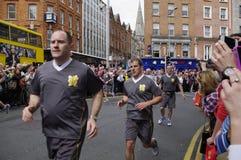 爱尔兰 都伯林 2012年6月06日 库存照片