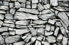 爱尔兰limestonee墙壁 库存图片