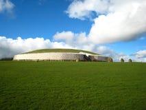 爱尔兰newgrange 库存照片