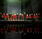 爱尔兰riverdance 免版税库存图片