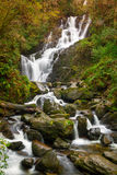 爱尔兰torc瀑布 图库摄影