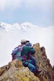 爱山顶 图库摄影