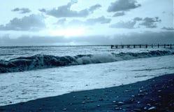 爱德乐南部的文化公园风暴1971年10月 免版税库存照片