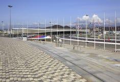 爱德乐竞技场贸易和会展中心 现在 图库摄影