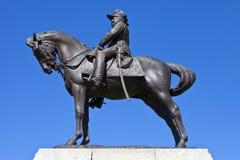 爱德华七世国王纪念碑在利物浦 库存图片