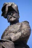 爱德华七世国王纪念碑在利物浦 免版税库存图片