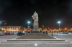 爱德华七世国王雕象-开普敦,南非 免版税库存照片