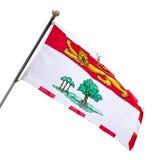 爱德华王子岛省旗子  免版税库存图片