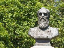 爱德华D特雷西南北战争纪念品纪念碑 库存图片