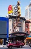 爱德Mirvish剧院在多伦多。 库存图片