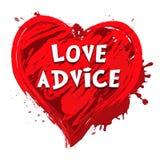 爱忠告意思婚姻教导3d例证 皇族释放例证