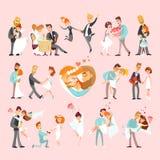 爱情和婚礼故事汇集 免版税图库摄影