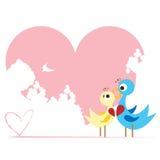 爱情鸟 库存例证