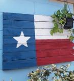 爱我的得克萨斯旗子 免版税图库摄影