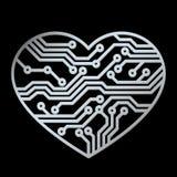 爱技术 向量例证