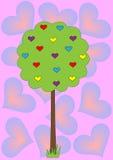 爱护树木 库存照片