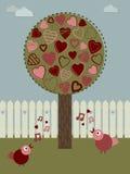 爱护树木 库存图片