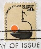 爱持续的美洲轻 免版税库存照片
