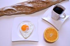 爱早餐 免版税库存图片