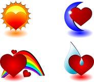 爱本质 向量例证