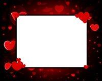 爱框架 库存例证