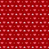 爱模式红色 免版税库存图片