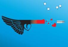 爱武器 向量例证