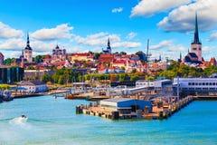 爱沙尼亚塔林 免版税图库摄影