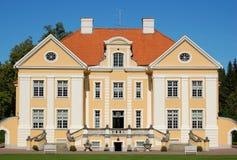 爱沙尼亚庄园 免版税图库摄影
