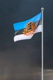爱沙尼亚的总统标志 库存照片