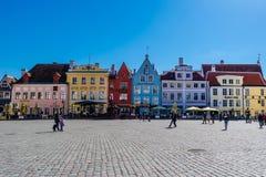爱沙尼亚老塔林城镇 免版税库存照片