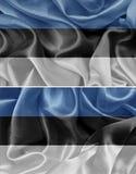 爱沙尼亚语旗子 库存照片