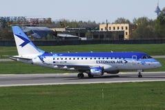 爱沙尼亚语的航空 库存照片